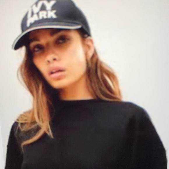 a41a1160a4731 Ivy Park by Beyoncé  TopShop Logo Cap NWT- Black